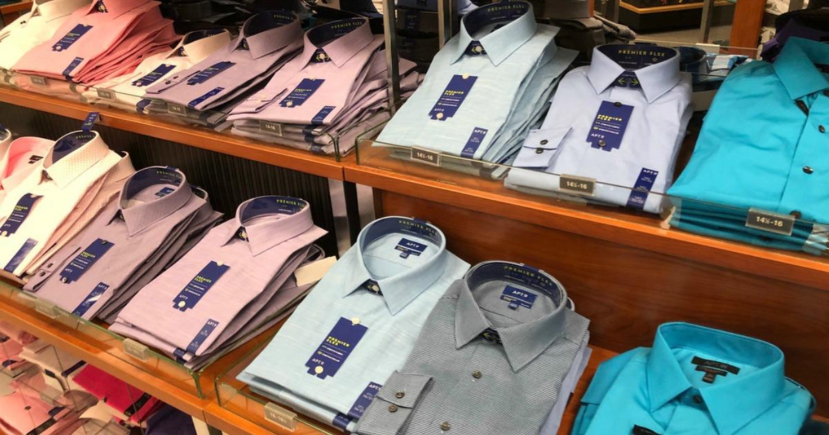 3a1de2f1a28 Men s Apt. 9 Dress Shirts as Low as  6.99 + FREE Shipping For Kohl s  Cardholders