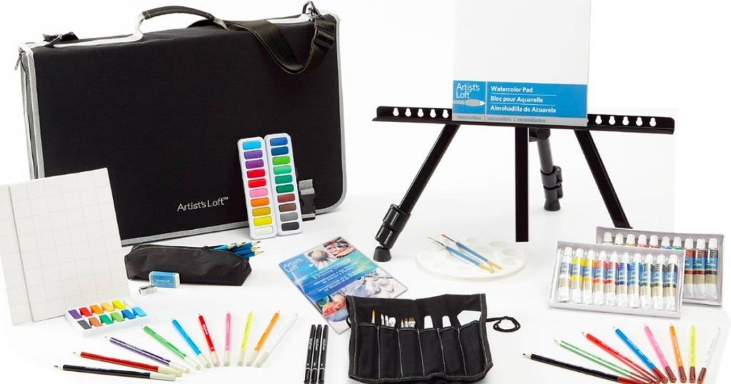 Complete Art Studio Easel Set Only 21 60 Shipped Regularly