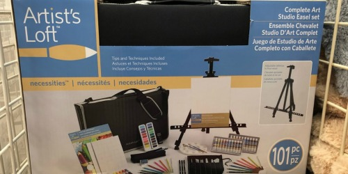 Complete Art Studio Easel Set Only $21.60 Shipped (Regularly $70) & More