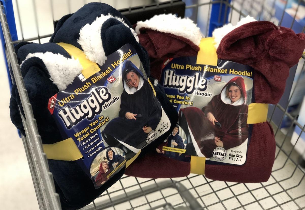 ultimate gift guide ideas under 25 — As Seen on tv huggle blanket hoodie