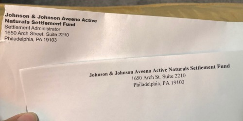 Did You Request an Aveeno Active Naturals Refund? Check Your Mailbox