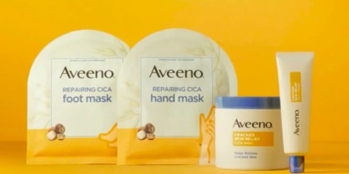 Aveeno Repairing Hand or Foot Masks Only $1.32 Each Shipped After Target Gift Card
