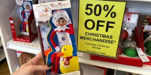 50% Off Elf on the Shelf, Yankee Candle, & More at Bed Bath & Beyond