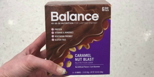 Amazon: Balance Bars Protein Bars 6-Count Boxes as Low as $2.99 (Just 50¢ Each)