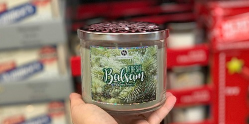 3-Wick Seasonal Candles Only $3.99 at ALDI (Similar to Bath & Body Works Candles?!)