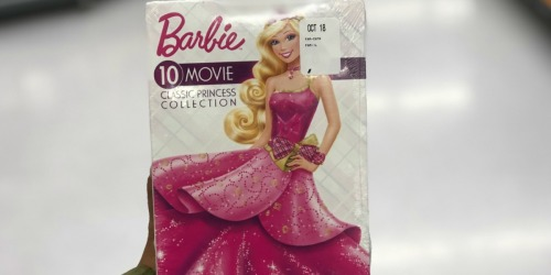 Amazon: Barbie 10-Movie Classic Princess DVD Collection Only $10.99 Shipped (Regularly $45)