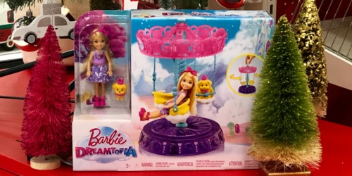 Over $90 Worth of Barbie Toys UNDER $50 Shipped at Target