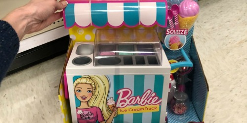 30% Off Barbie Ice Cream Cart & Cash Register at Target (Just Use Your Phone)