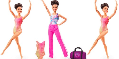 Laurie Hernandez Gymnast Barbie Doll Only $13.88 on Walmart.com (Regularly $30)