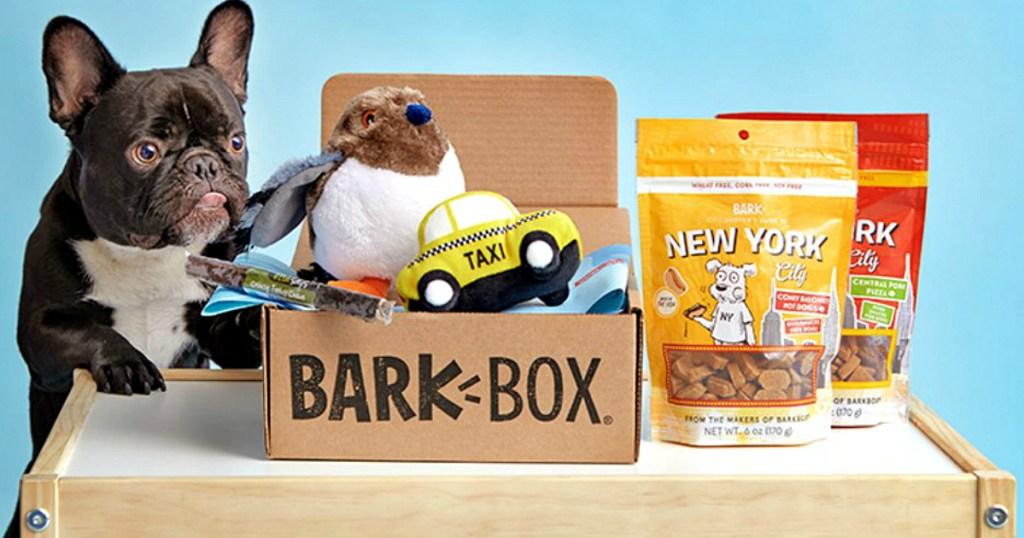 Barkbox subscriptions