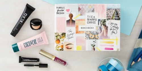 Birchbox: 5 Deluxe Beauty Samples AND Bonus M.A.C. Lipstick ONLY $10 Shipped + More