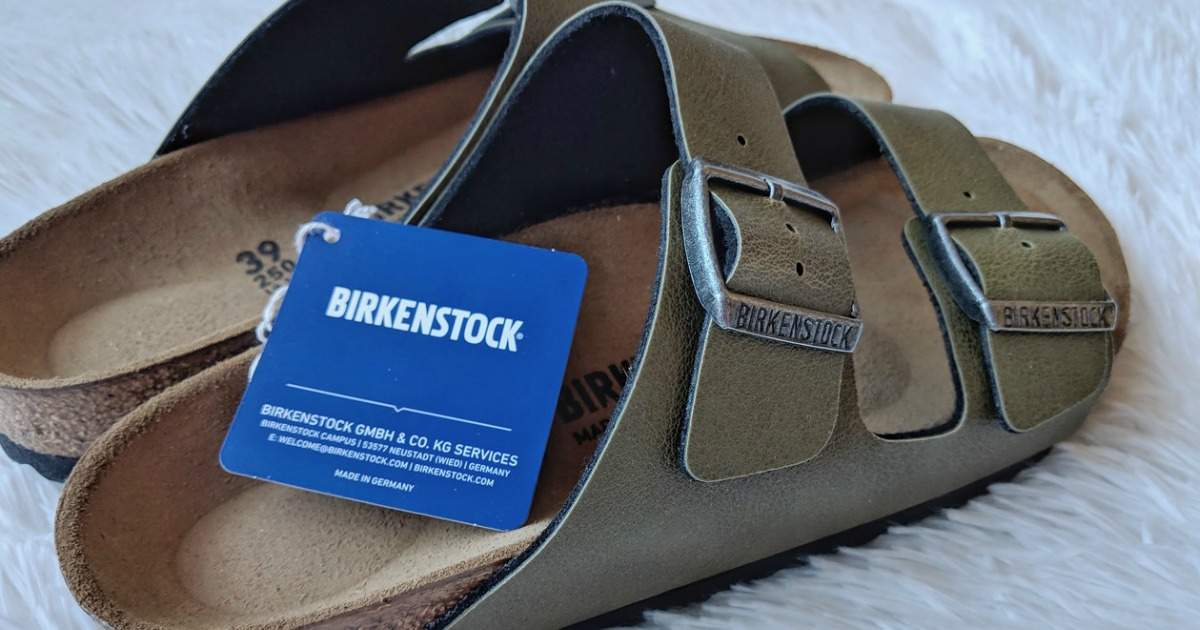 5096b42c0612 Birkenstock Arizona Birko-Flor Sandals Only  39.99 Shipped (Regularly  100)