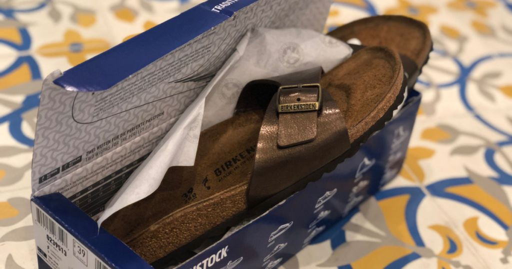Birkenstocks Madrid Birko-Flor Sandals