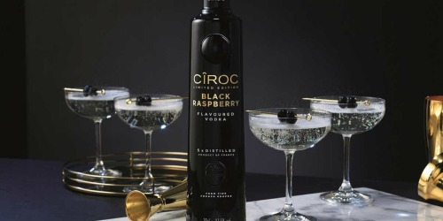Limited Edition CÎROC Black Raspberry Vodka AND $20 Lyft Gift Card Only $26 Shipped