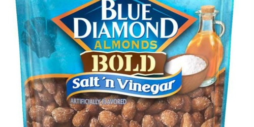 Amazon: Blue Diamond Almonds Bold Salt 'n Vinegar 16 oz Bag Only $6.98 Shipped