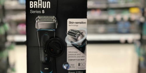 Up to 60% Off Braun Shavers For Men & Women From Walmart (After Rebate)