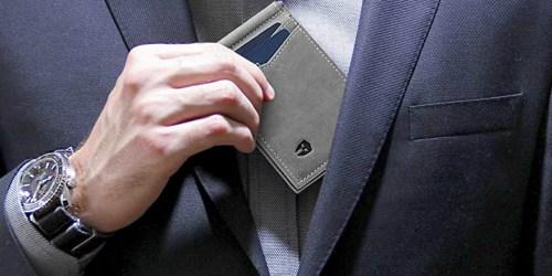 Amazon: RFID Blocking Slim Leather Wallet Only $14.99 Shipped (Regularly $30)