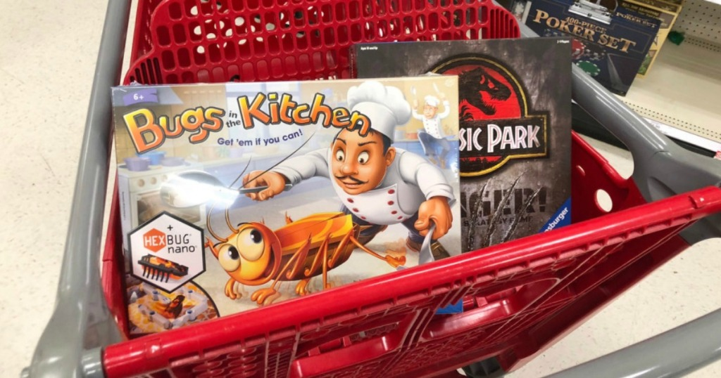 Bugs in the Kitchen and Jurassic Park games