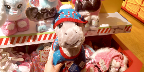 Build-a-Bear Workshop Zoo Furry Friends Just $10 + More