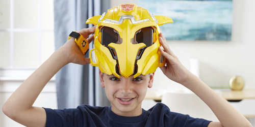 Transformers Bumblebee Mask with AR Experience Only $17.99 Shipped (Regularly $50)