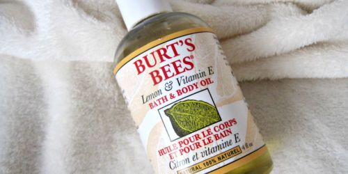 Burt's Bees Bath Oil 4-Ounce Bottle Only $2 Shipped From Amazon