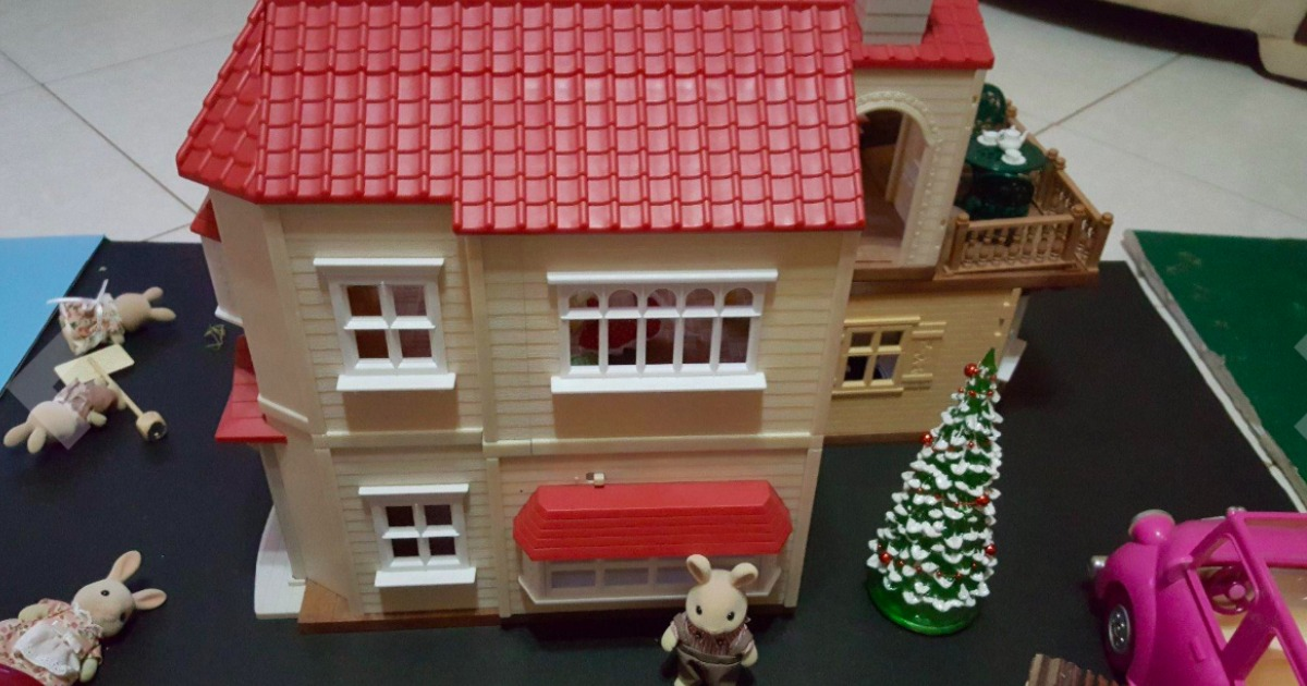 495cd941d11a Calico Critters Red Roof Country Home Gift Set w  Over 50 Pieces Only   49.97 Shipped (Regularly  100)
