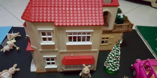 Calico Critters Red Roof Country Home Value Set w/ Over 50 Pieces Only $57 Shipped (Regularly $100)