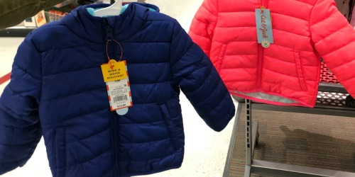 Target.com: Cat & Jack Puffer Jackets Only $10.50 Shipped & More
