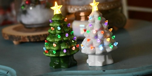 The Best Classic Ceramic Tabletop Christmas Tree Deals