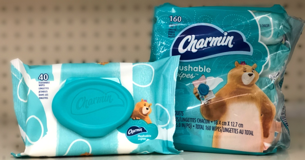 Charmin Flushable Wipes Recall
