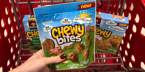 50% Off Quaker Chewy Products at Target (Just Use Your Phone)
