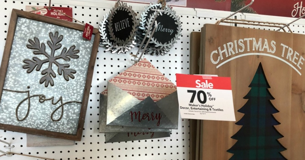 Up to 70% Off Christmas Decor at JoAnn