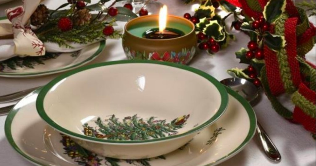 Up To 75 Off Christmas Dinnerware Coffee Mugs At Macy S Spode