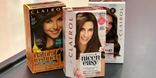 New Buy 1 Get 1 FREE Clairol Hair Color Coupon = Only $2.50 After CVS Rewards + More
