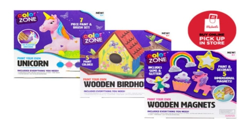 Michaels: Color Zone Craft Sets for Less Than $2!
