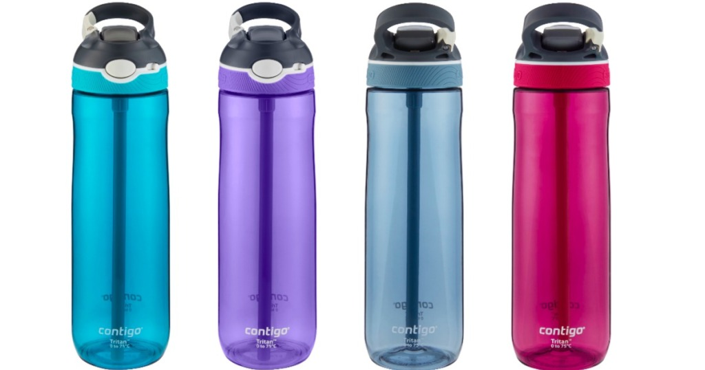3890e55bb44 2 Pack Contigo AUTOSPOUT Straw Ashland Water Bottles Only $8 Shipped ...