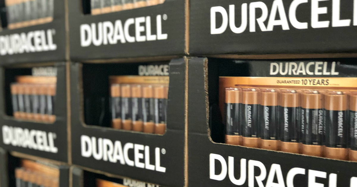 Costco Duracell batteries