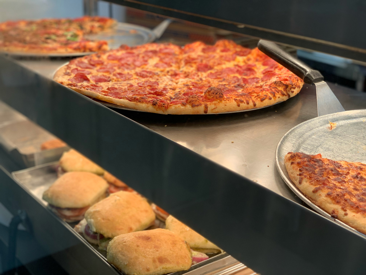 Costco Food Court pizzas