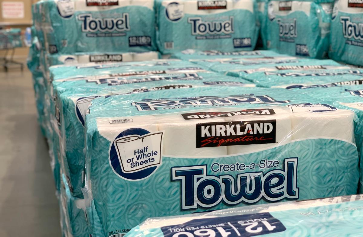 Costco Kirkland Signature Paper Towels