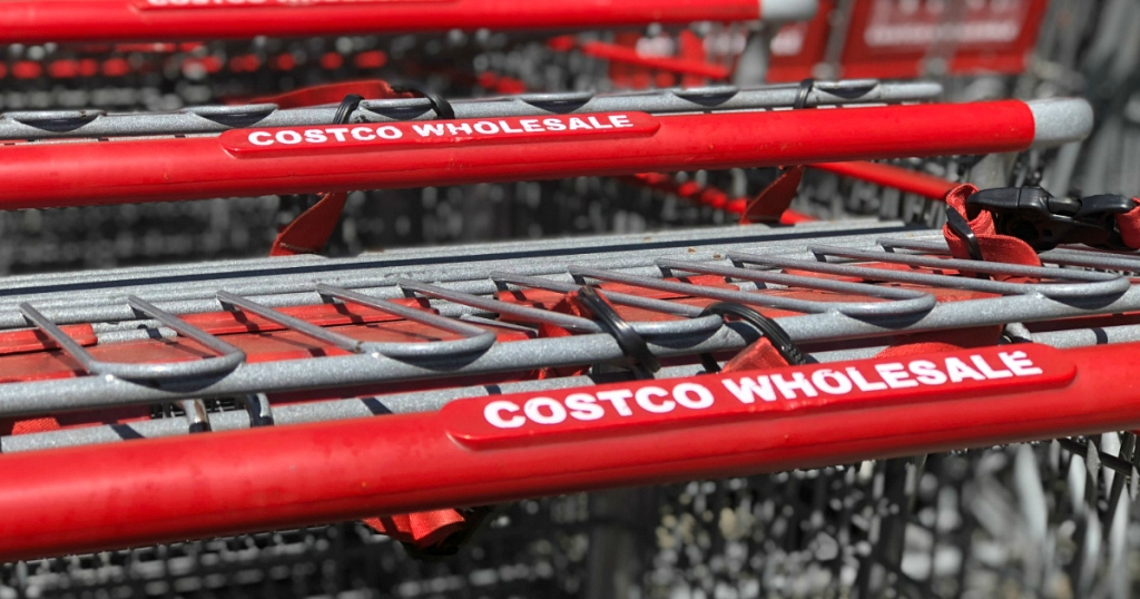 Costco Wholesale grocery carts