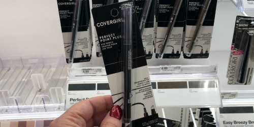 $8 Worth of New CoverGirl Coupons = FREE Eyeliner at Target + More