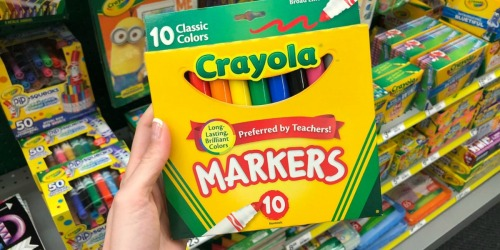 FREE Michaels Teacher Event w/ Refreshments, Crayola Projects & More on March 23rd