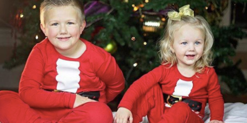 Crazy 8 Holiday Pajama Sets as Low as $8.80 Shipped (Regularly $20)
