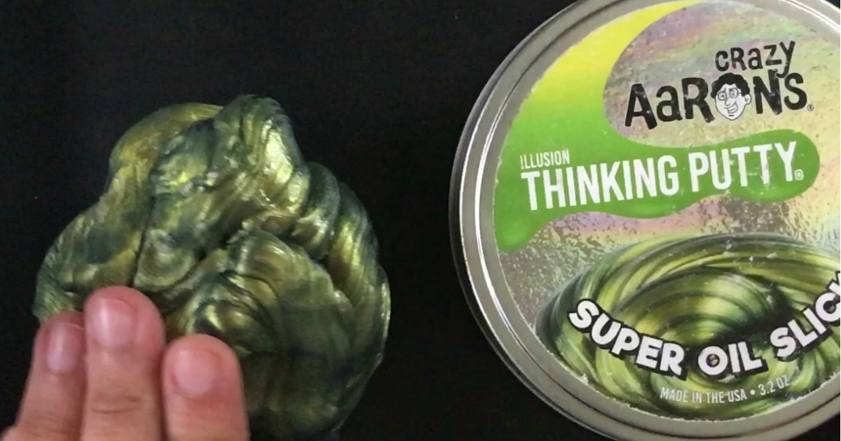 Amazon Crazy Aaron S Super Oil Slick Thinking Putty Only