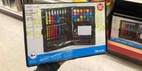 Michaels Creatology 100-Piece Kids Art Set Only $1.80