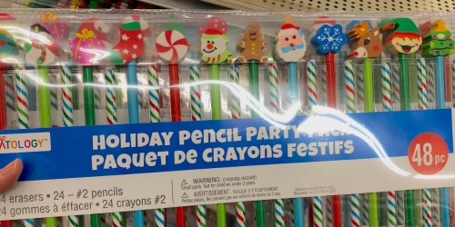 Creatology Pencil Party Packs Only $2.40 on Michaels.com (Including FUN Christmas Styles)