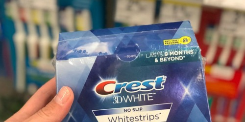 Amazon: Crest 3D White Whitestrips Kit 22-Count Only$14.99 Shipped (Regularly $68)