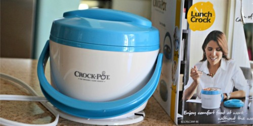 THREE Crock-Pot Lunch Crock Food Warmers Only $33 Shipped (Just $11 Each) – Nice Gift Idea