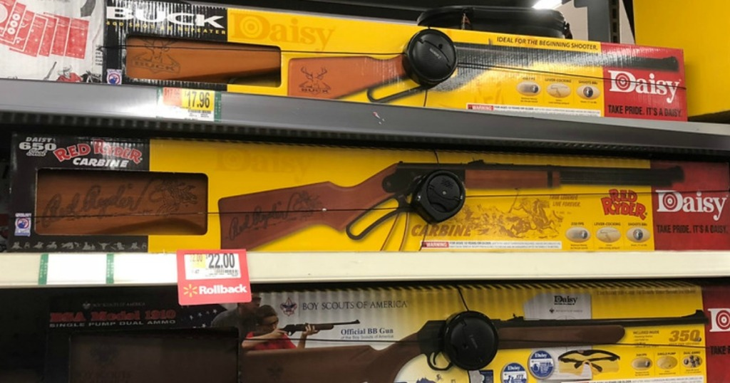 Walmart: Daisy 1938 Red Ryder Air Rifle Only $22 (Regularly