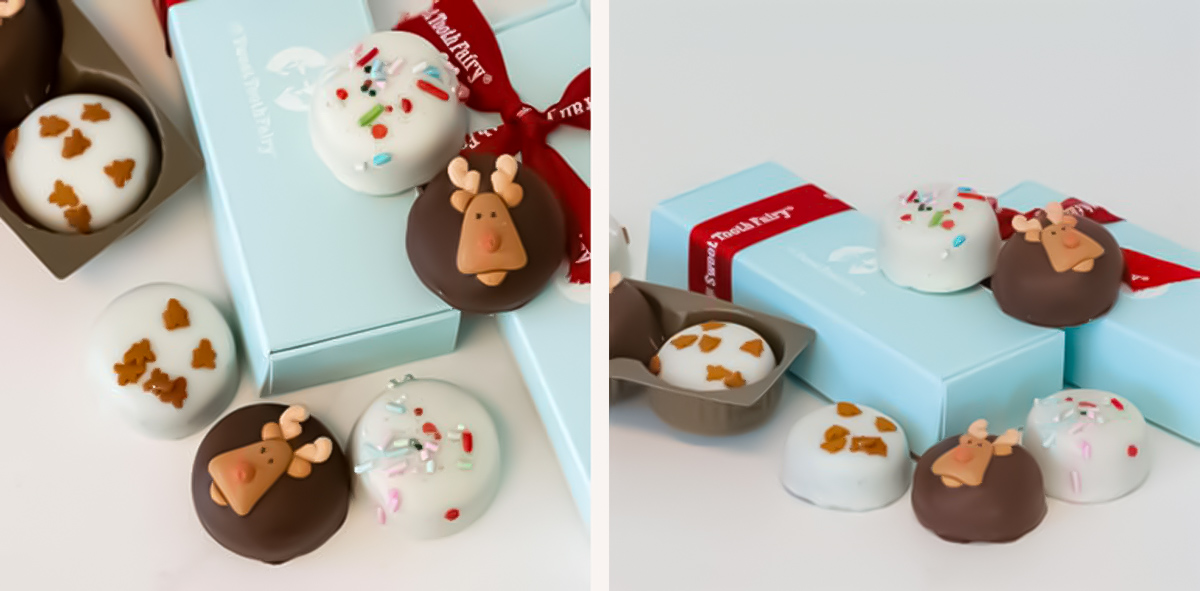 ultimate gift guide ideas under 25 — Deluxe Christmas Cakebites